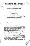 Oraisons funèbre, 1816-1841
