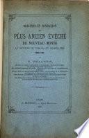 Origines et fondation du plus ancien évêché du Nouveau monde