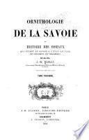 Ornithologie de la Savoie, ou, Histoire des oiseaux
