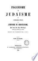 Paganisme et Iudaïsme, 4