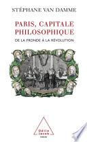Paris, capitale philosophique