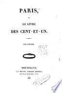 Paris ou Le livre des cent-et-un