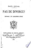 Pas de divorce!