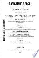 Pasicrisie belge
