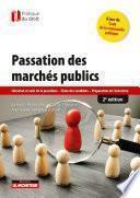 Passation des marchés publics - 2e éd