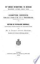 Pathologie générale anatomie pathologique et bactériologie, par A. Mendoza