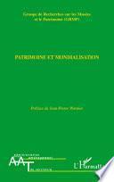 Patrimoine et mondialisation