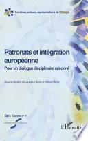 Patronats et intégration européenne