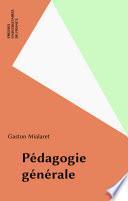 Pédagogie générale