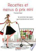 Petit livre de - Recettes et menus à prix mini