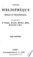 Petite bibliothèque morale et philosophique