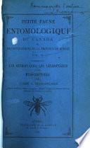 Petite faune entomologique du Canada et particulièrement de la province de Québec