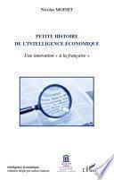 Petite histoire de l'intelligence économique