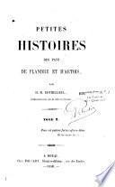 Petites histoires des pays de Flandre et d'Artois