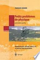 Petits problèmes de physique - 1ere partie