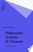 Philosophie et droits de l'homme