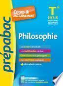 Philosophie Tle L, ES, S - Prépabac Cours & entraînement