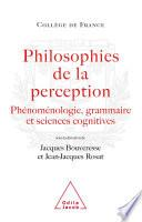 Philosophies de la perception