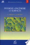 Physique et ingéniérie des surfaces