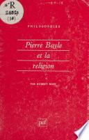 Pierre Bayle et la religion