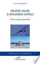 Pilote dans l'aviation civile