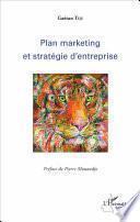 Plan marketing et stratégie d'entreprise