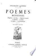 Poèmes modernes: Angelus. Le banc. Enfants trouvées. L'attente. Le père. Le défilé. La bénédiction
