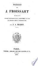 Poésies de J. Froissart