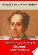Politique, opinions et discours