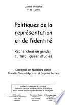 Politiques de la représentation et de l'identité