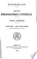 Polybiblion