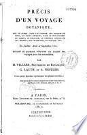 Précis d'un voyage botanique fait en Suisse, dans les grisons en 1811