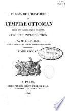 Précis de l'histoire de l'empire Otomman
