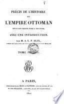 Precis de L'Histoire de L'Empire Ottoman