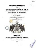 Précis historique sur les comtes de Périgord et les branches qui en descendent