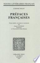 Préfaces françaises