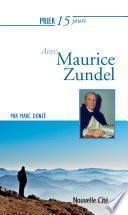 Prier 15 jours avec Maurice Zundel