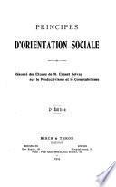 Principes d'orientation sociale