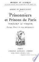 Prisonniers et prisons de Paris pendant la terreur