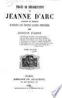 Procès de réhabilitation de Jeanne d'Arc