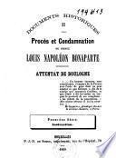 Procès et condamnation du prince Louis Napoléon Bonaparte