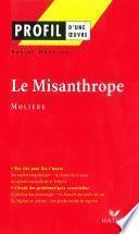 Profil - Molière : Le Misanthrope
