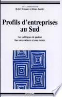Profils d'entreprises au Sud