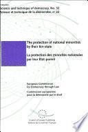 Protection Des Minorités Nationales Par Leur Etat-parent