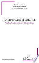 Psychanalyse et empathie