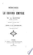 ptie. L'Empire et ses transformations