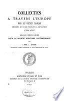 Publications de la Société d'histoire contemporaine