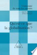 Qu'est-ce que la globalisation ?