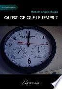 Qu'est-ce que le temps ?
