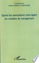 Quand les associations interrogent les modèles de management